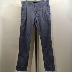 Calvin Klein Comfy Casual Khaki Gray Pants 30